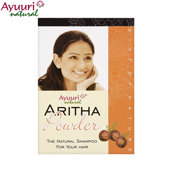 Ayuuri Natural Aritha Powder natural sampon zsíros hajra 100 g
