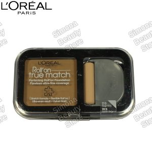 Loreal True Match Roll on alapozó - W3 Golden Beige