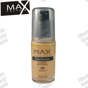 Max Factor ColorGenius Mineral alapozó - 630 Honey 3