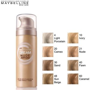 Maybelline Dream Nude Airfoam alapozó 50 ml - 021 Nude